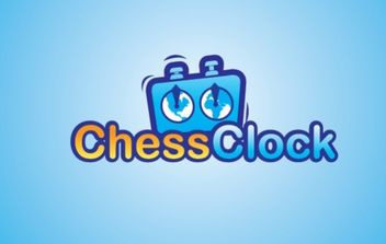 Chess Clock Logo - vector gratuit #176035