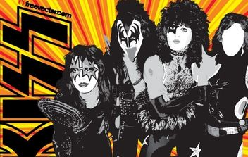 KISS Band - vector gratuit #176075