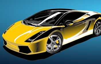 Racing Car Vector - бесплатный vector #176095
