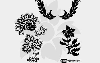 Flourish Vector Pack 2 - vector gratuit #176435