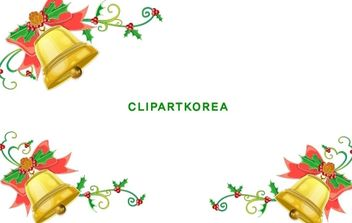 Christmas bells - Free vector #176595
