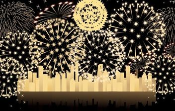 FIREWORKS 3 - Free vector #176605
