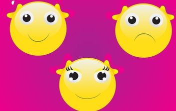 Smiley Face - vector gratuit #177065