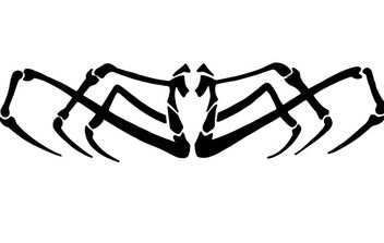 SPIDER VECTOR CLIP ART - vector #177415 gratis