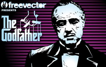 The Godfather - Free vector #177485