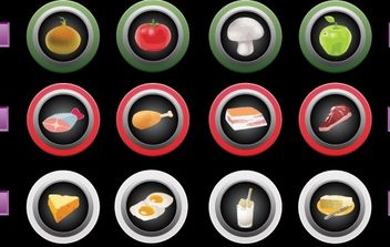 Touch Screen icons - vector #177995 gratis