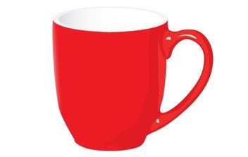 Coffee Mug Vector - бесплатный vector #178085