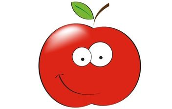 Free Apple Head - Free vector #178095