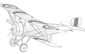 Vector Airplane - vector gratuit #178155
