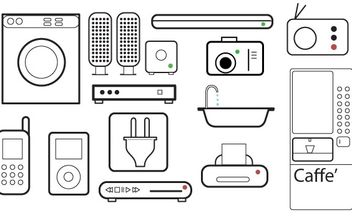 appliances - vector #178165 gratis