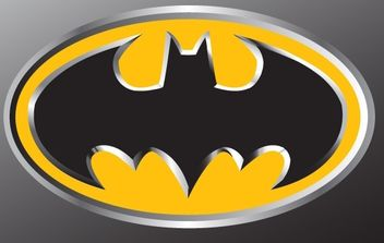 Batman Emblem - Free vector #178605