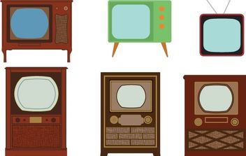 TV Vector art - vector gratuit #179015