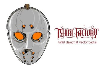 Hockey Mask - vector gratuit #179315