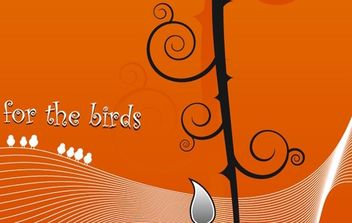 For the birds - Free vector #179335