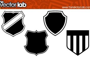 Shields - Free vector #179405