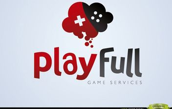 Creative Play Full Gaming Logo - Kostenloses vector #181425