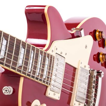 Red electric guitar - image #182965 gratis