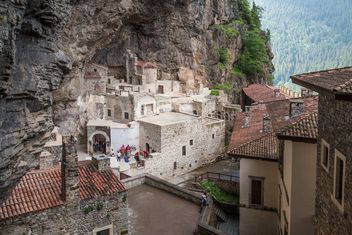 Sumela Monastery in Trabzon, Turkey - бесплатный image #183035