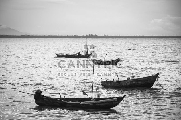 Fisherboats on the water - image gratuit #183385