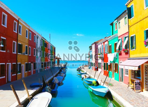 Colored houses - Free image #183685