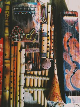 Various ethnic musical instruments - Free image #183695