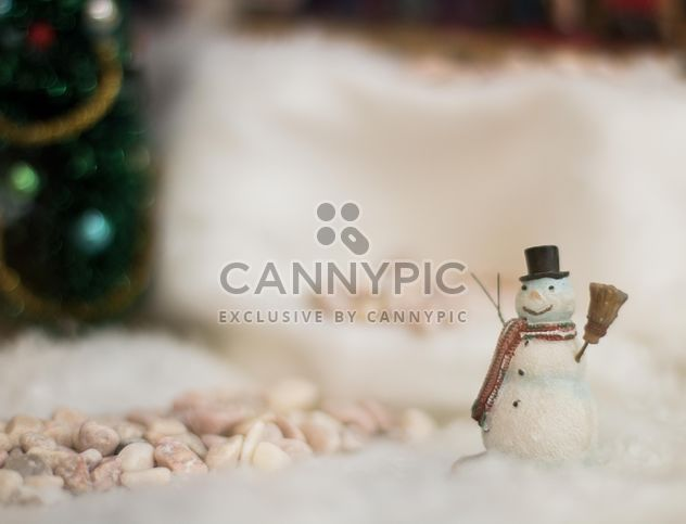 Cute snowman toy - Free image #183805