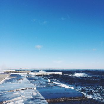 Cold winter sea - Kostenloses image #183955