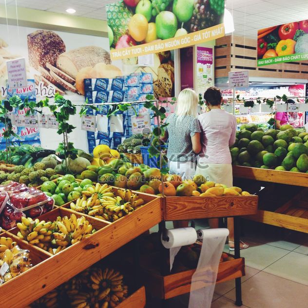 fruits au supermarché - image gratuit #185855