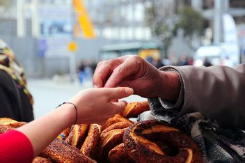 turkish bagel simit - Free image #185945