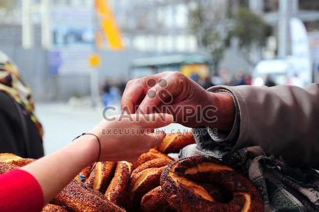 turkish bagel simit - image gratuit #185945
