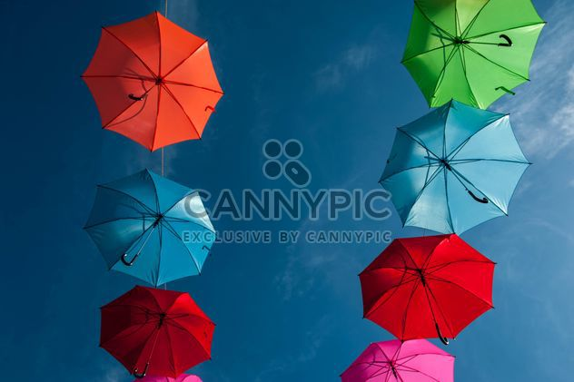 Colorful umbrellas - image #186555 gratis