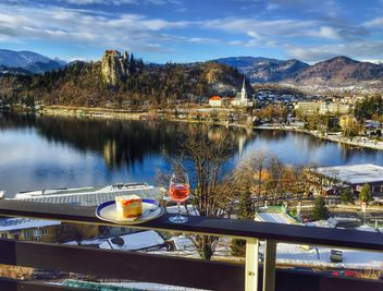 Beautiful landscape, Bled Lake - image #186825 gratis
