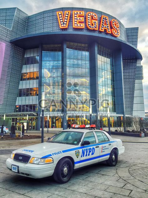 US Police Car near Crocus City Hall - image gratuit #186845
