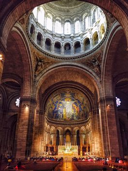 Interior of Basilica Sacre Coeur - бесплатный image #186855