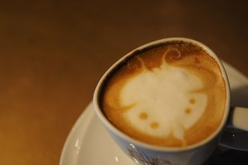 Coffee latte close up - image gratuit #186925