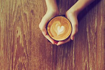 Coffee latte morning - Kostenloses image #186935
