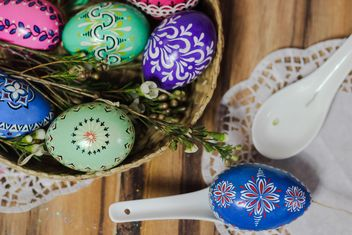 Decorative Easter eggs - image gratuit #187485