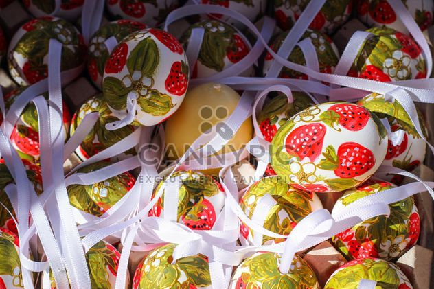 strawberry eastereggs - Free image #187515
