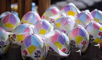 Painted Easter eggs - image gratuit #187545
