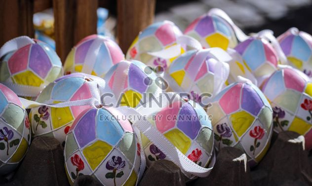 Painted Easter eggs - Free image #187545