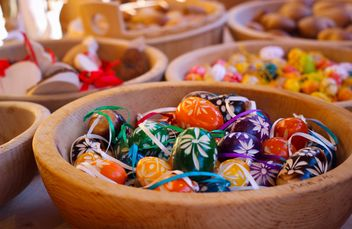 Colorful Easter eggs - Kostenloses image #187575