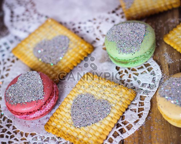 Colorful macaroons and cookies - Free image #187645