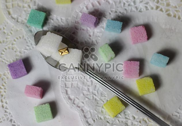 colorful pastel sugar cubes - Free image #187655