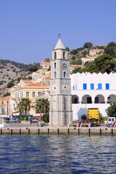 Old Clock Tower in Greece - Kostenloses image #187855