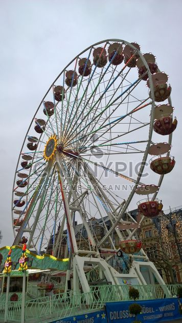 Ferris Wheel at the Fun Fair - image gratuit #187865