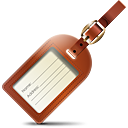 Luggage Tag - Free icon #188845