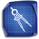 Circle Compass - icon gratuit #189295