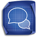 Chat - icon #189335 gratis