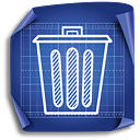 Trash - icon gratuit #189445