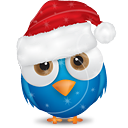 Christmas Bird - icon gratuit #189715